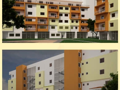 Проект 84: Жилищна структура за постоянно обитаване