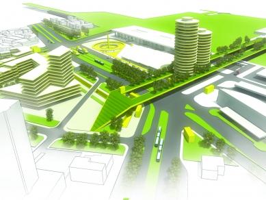 Проект 12: Концептуален проект за формиране на вторичен градски център