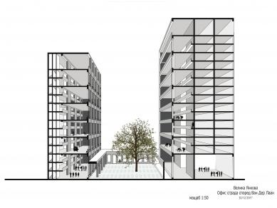 Проект 46: Офис сграда според Ван Дер Лаан