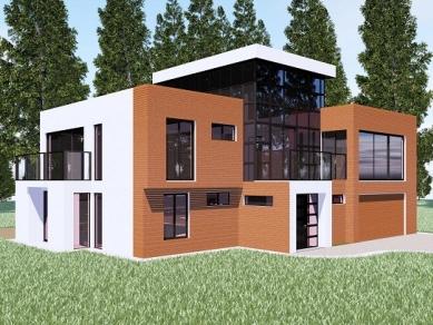 Проект 71: Рехабилитационен комплекс - гр. Банкя -Еднофамилни къщи към хотела