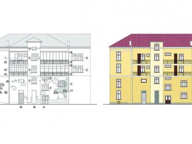 Проект 121: Жилищно търговска сграда на братя Хаимови