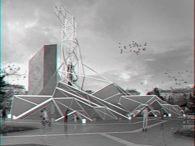 """Проект 11: Архитектурна интерпретация за обитаване на паметник """"1300 г. България"""" и прилежащото му пространство"""