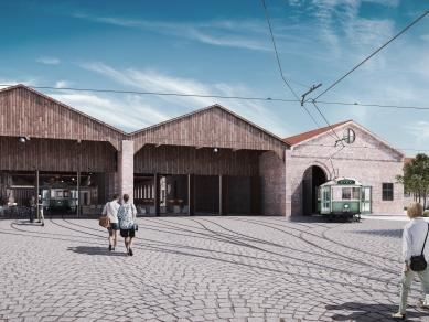 """Проект 33: Трамвайно депо на ул. """"Клокотница"""" в гр. София и прилежащата му територия в контекста на урбанистичните идеи за рехабилитация на окологаровия район и обособяване на вторичен градски център."""