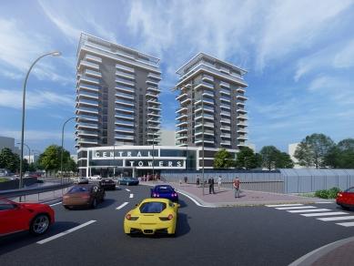 Проект 36: Многофункционален жилищен комплекс - CENTRAL TOWERS