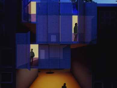 Проект 40: Облач, НО - проект за многофункционално сградно пространство, Зона Г-14 (квАРТалът), гр. София